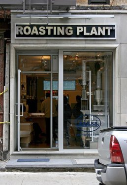 Roasting Plant Coffee
