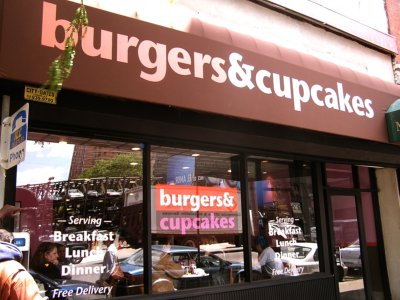 Burgers and Cupcakes